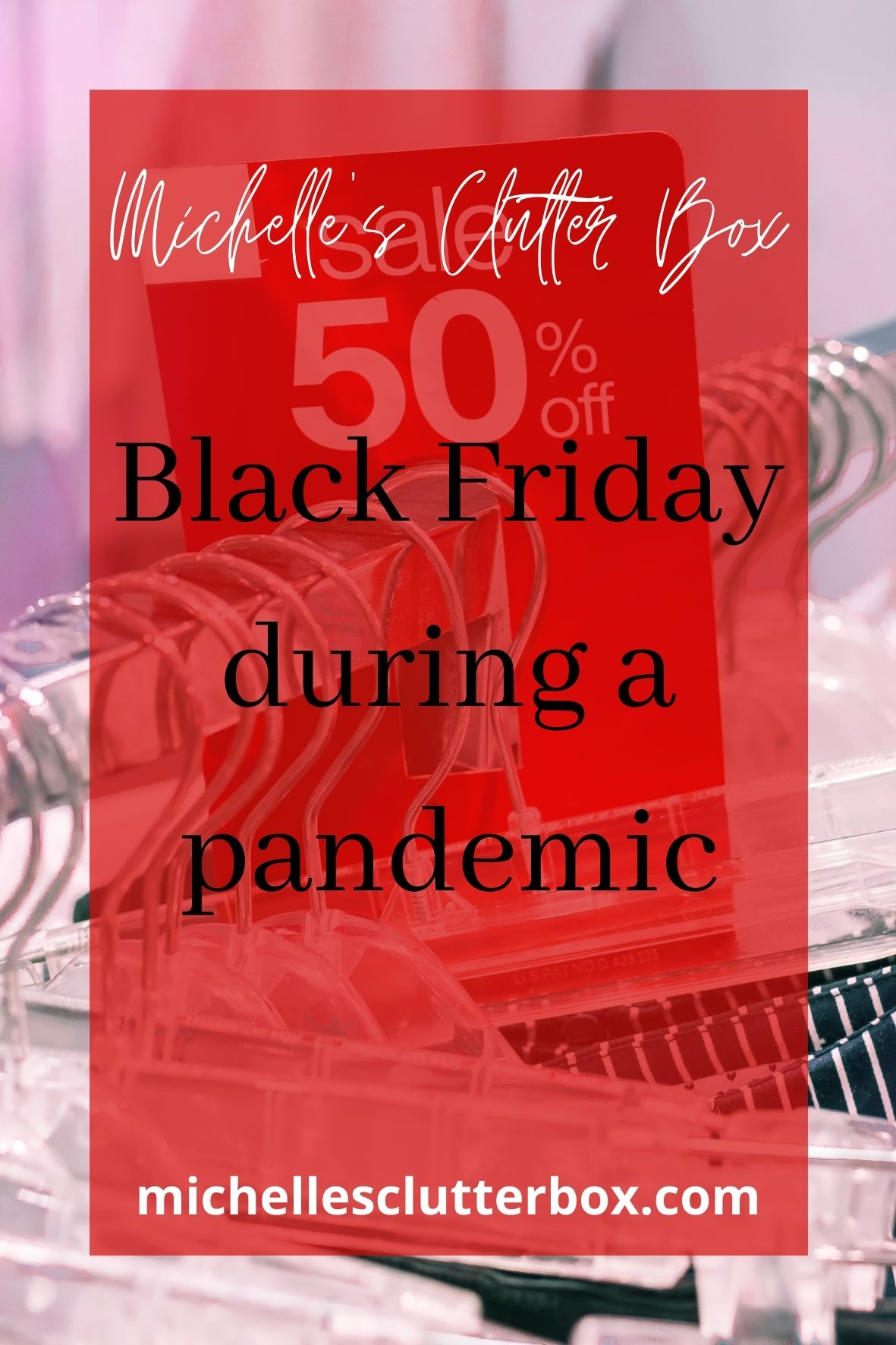 Black Friday during a pandemic