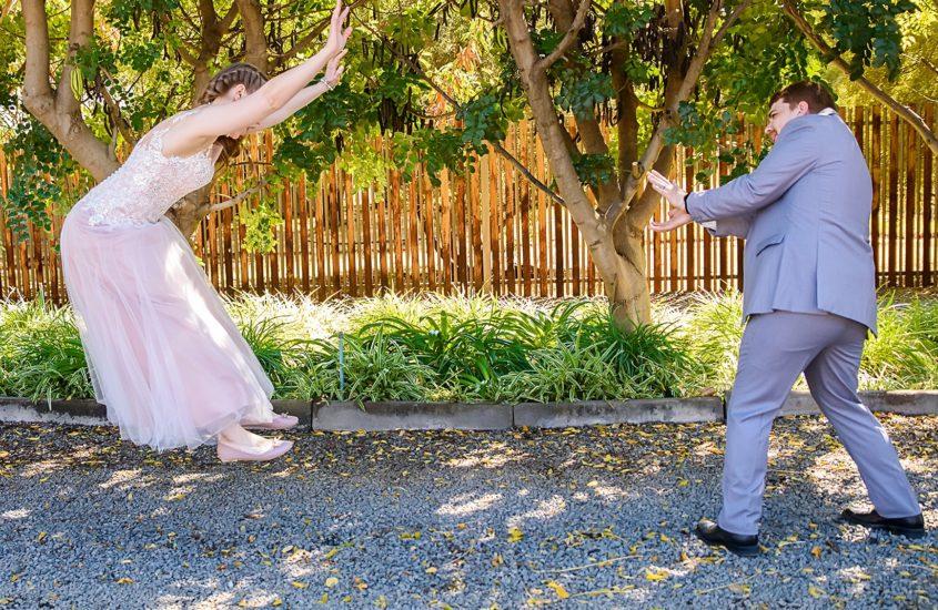 Our weird wedding